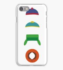 Minimalist cool south park design iPhone Case/Skin