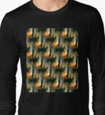 Battery Mishler grassroots run deep, behind the furnace pattern Long Sleeve T-Shirt