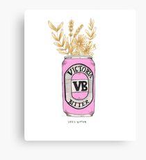 Victoria Bitter Canvas Print