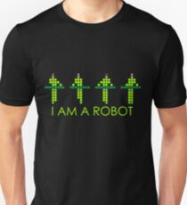 PIXEL8 | Power Station NEON | I AM A ROBOT T-Shirt