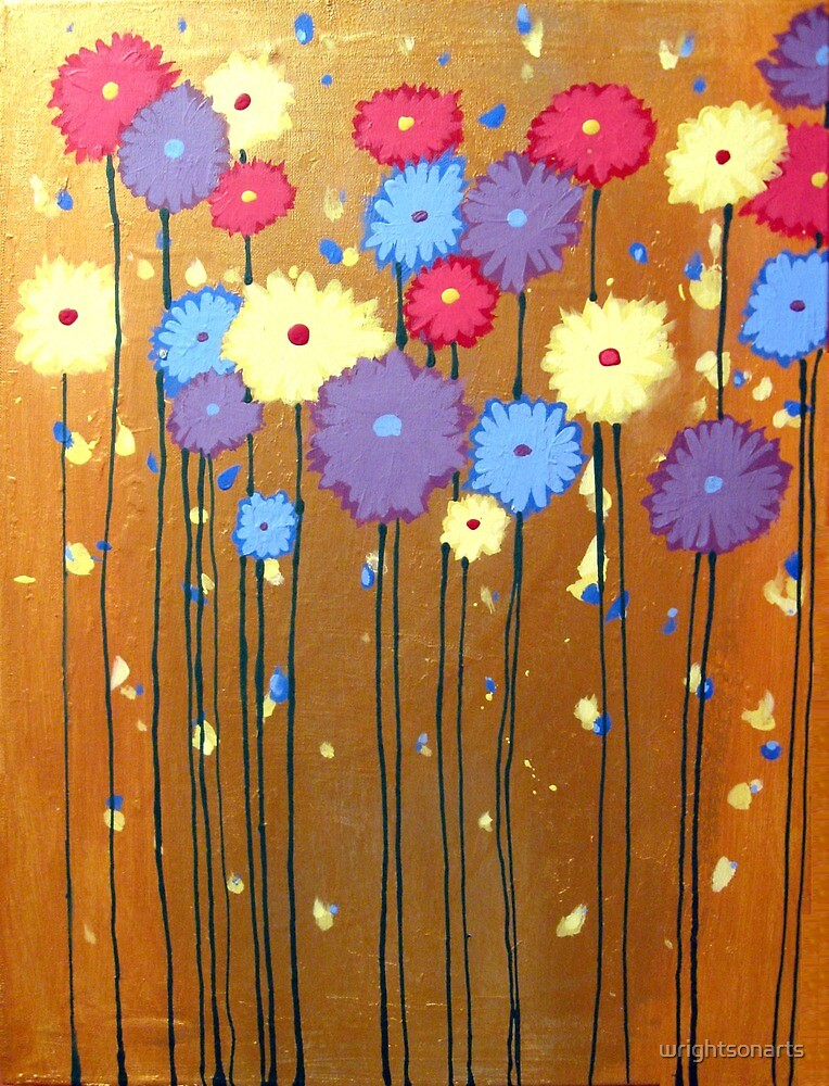 Quot Flower Painting Floral Impressionist Wall Art Acrylic