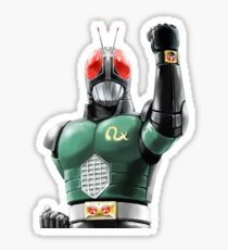 kamen rider rx ready Sticker