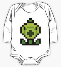 Pixel Peashooter One Piece - Long Sleeve