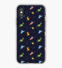 Dinosaurs In Space iPhone Case