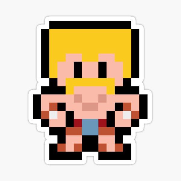 Pixel Barbare Sticker
