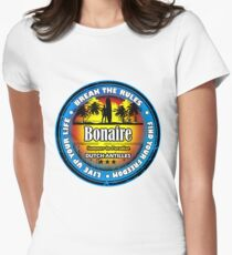 Summer Style Bonaire Womens Fitted T-Shirt