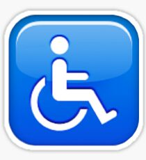 Pegatina Handicap Emoji