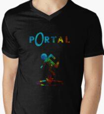 Portal Minimalist Nebula Design T-Shirt