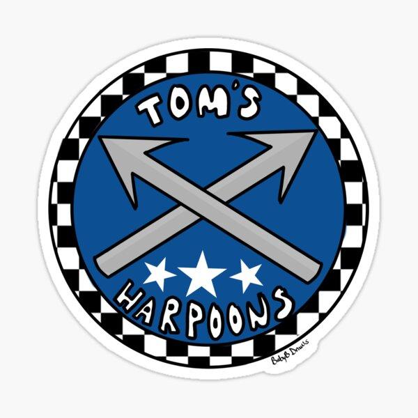 Tom's harpoons! Sticker