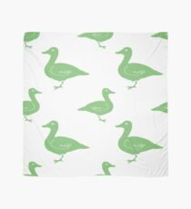 Hand Drawn Duck silhouette seamless pattern. Illsutration Scarf