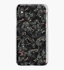 Wolf Pack Pattern iPhone Case
