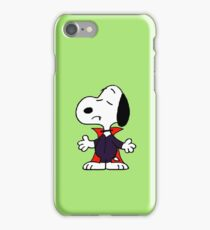 snoopy dracula iPhone Case/Skin
