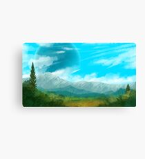 Verdant Plains Canvas Print