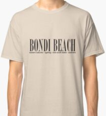 Bondi Beach Adresse Classic T-Shirt