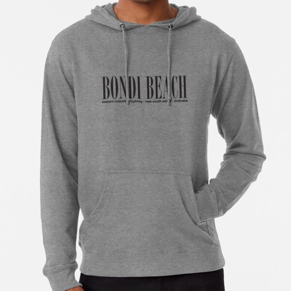 Bondi Beach address Lightweight Hoodie