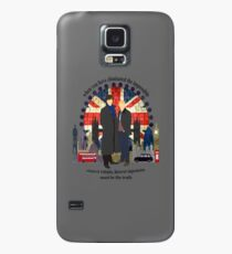 Eliminate the Impossible (Black Text) Case/Skin for Samsung Galaxy