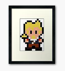 Pixel Guybrush Threepwood Framed Print