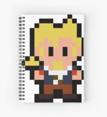 Pixel Guybrush Threepwood Spiral Notebook