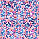 Seamless floral pattern by Tanor