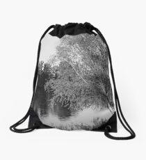Riverfront Drawstring Bag