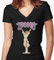 XANADU Kira Olivia Newton-John - Goldglühen Tailliertes T-Shirt mit V-Ausschnitt
