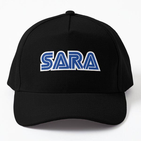 Nombre de Sara Gamer Girl Gorra de béisbol