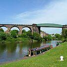 Salterford Rail Bridge & Viaduct.......River Weaver......! by Roy  Massicks