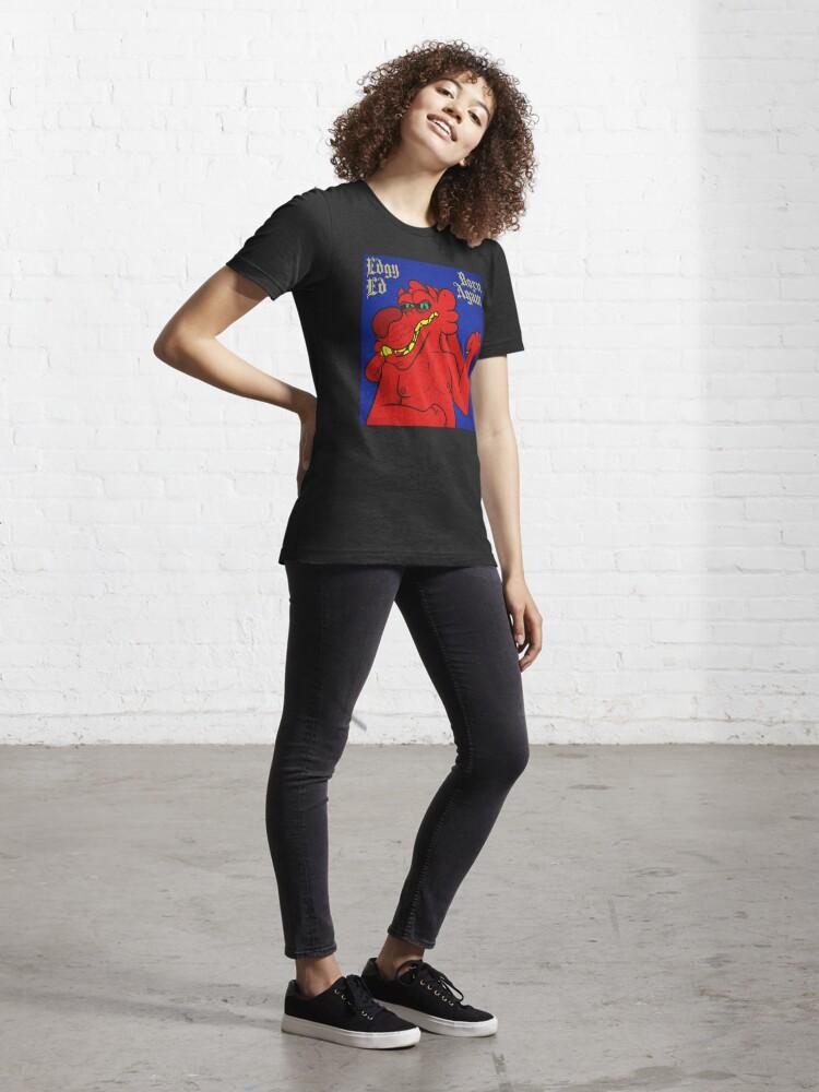 Alternate view of Edgy Ed - Born Again Essential T-Shirt