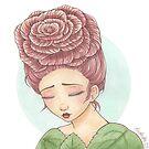 Solemn Dewdrops by bayleejae