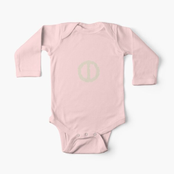 Moon Rune Collection Long Sleeve Baby One-Piece