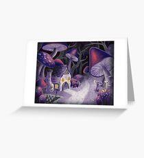 Mushroom Wonderland Greeting Card
