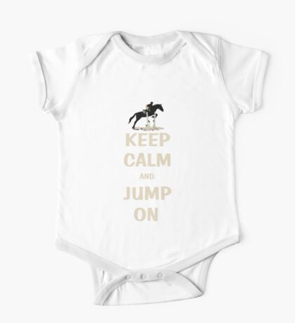 Keep Calm and Jump On Horse Pillows, iPhone Cases,T-Shirt or Hoodie's and More! Kids Clothes