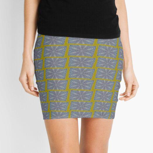 Octi Fav Blue Mini Skirt