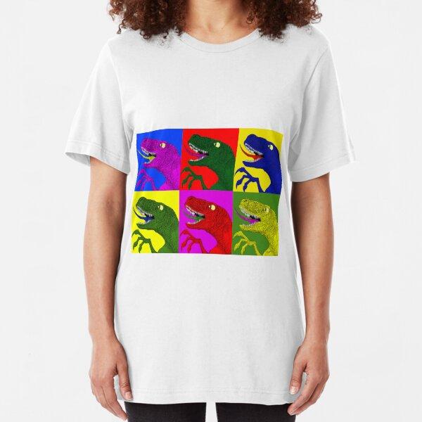 Acidus-Raptors  Slim Fit T-Shirt