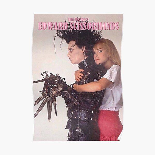Edward Scissorhands 1990 Vintage Poster
