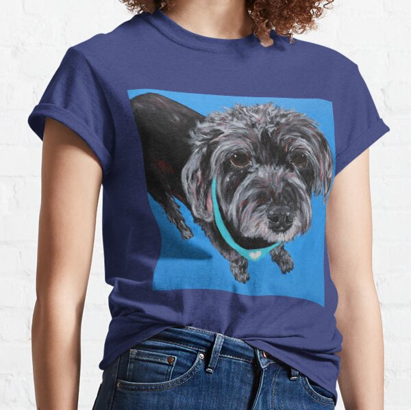 Sammy the Mini Schnauzer Mix Classic T-Shirt
