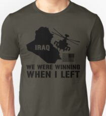 Iraq- Winning when I left T-Shirt