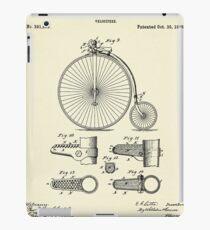 Velocipide-1888 iPad Case/Skin