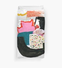 cat tails 3 Duvet Cover