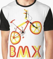BMX (Red & Yellow) Graphic T-Shirt