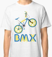 BMX (Blue & Yellow) Classic T-Shirt