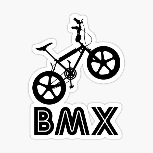mini Pink Custom Mk2 Raleigh Burner style BMX Stickers