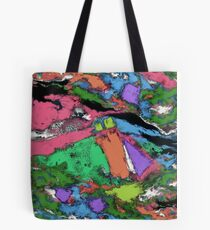 Mapping points Tote Bag