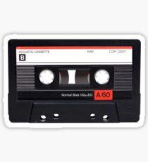 Cassette Tape Vintage Sticker
