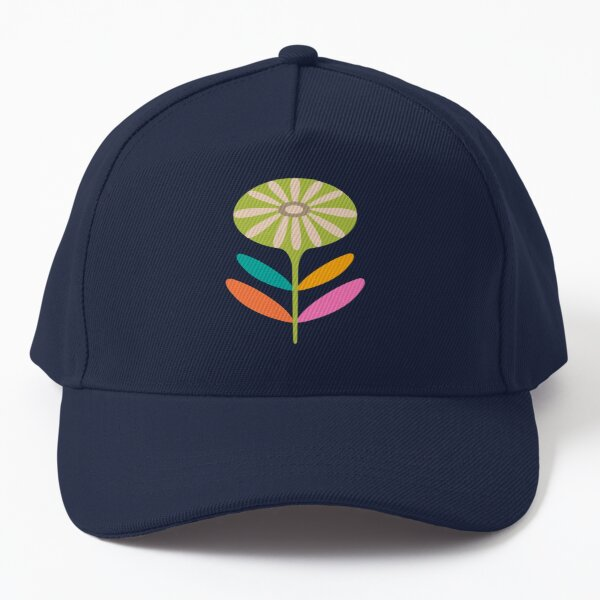 TAMI MOD FLORAL ROUND in Bright Multi-Colours - UnBlink Studio by Jackie Tahara Baseball Cap