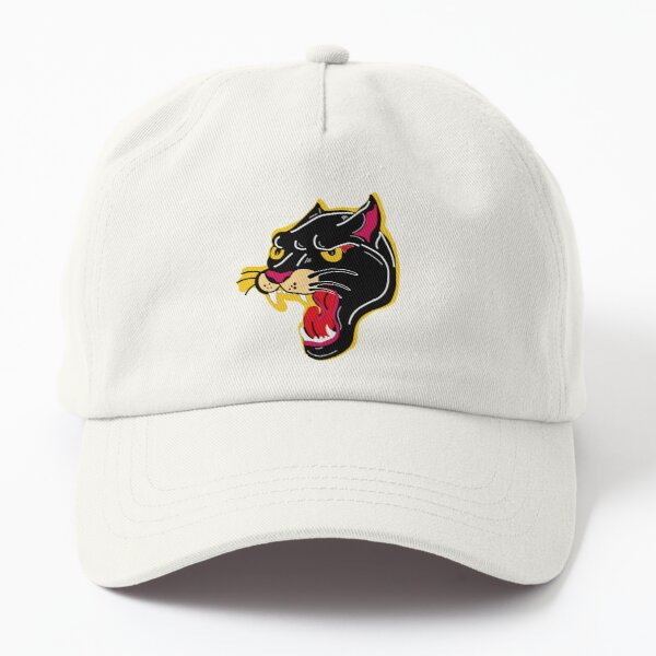 wonderful hand drawn Panther shirt ,stickers Dad Hat