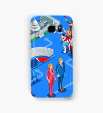 USA Political Elections Infographic Samsung Galaxy Case/Skin