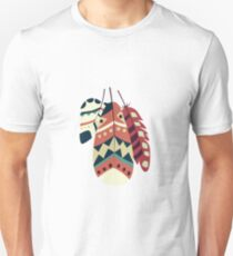 Tribal feather pattern 008 Unisex T-Shirt