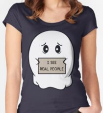 I See Real People Women's Fitted Scoop T-Shirt