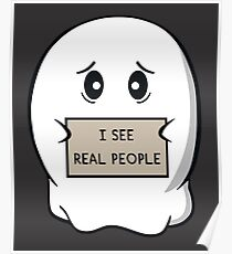 I See Real People Poster